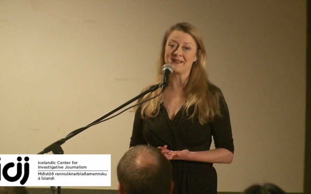 Annie Machon á Pressukvöldi