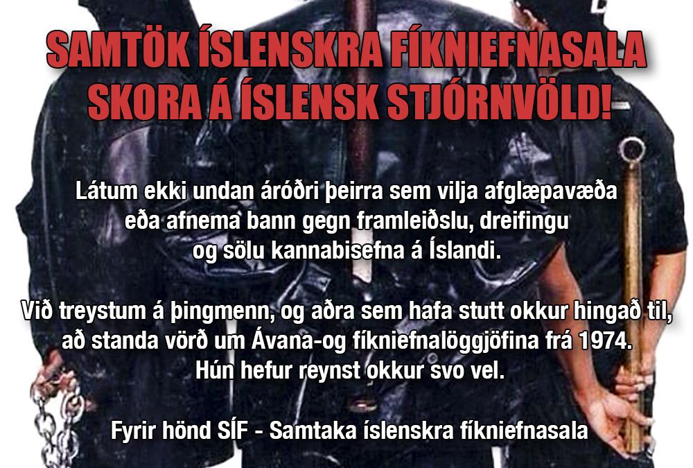 Fíknistríð eða lögvæðing?